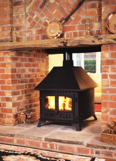 Hunter Double Sided Stove Murphy Heating