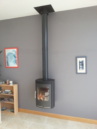 Termatech TT40n wall hung twin wall flue