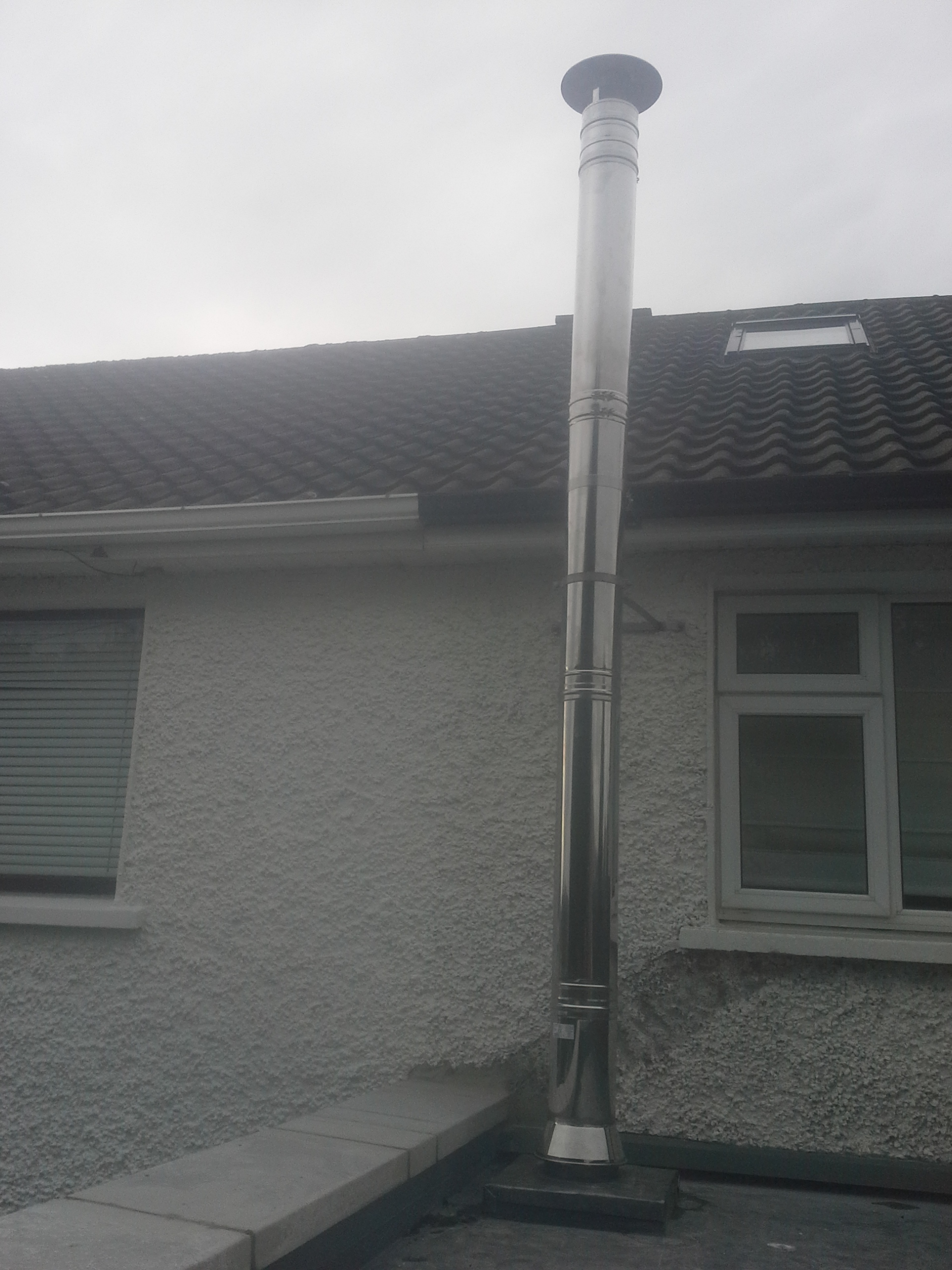 Flue through Flat Roof