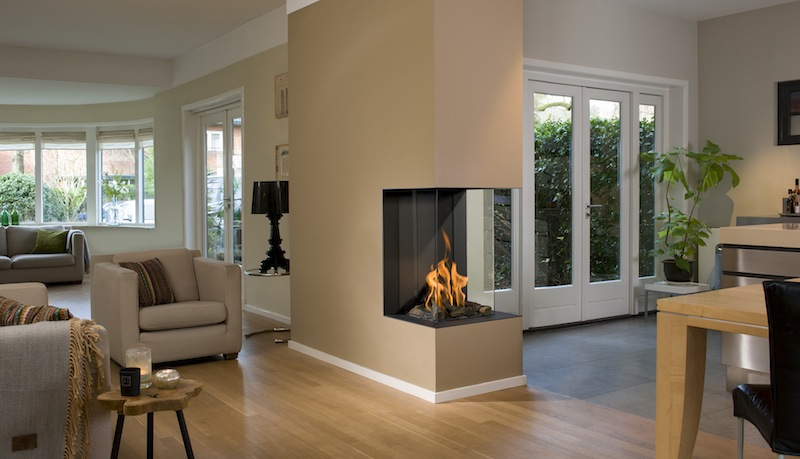 Bellfires View Bell Vertical 3 Gas Fire From Murphy Heating