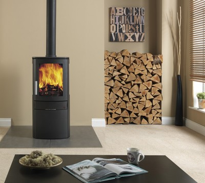 free standing stove. The NEO 1C Is Everything You Would Expect From A Fully Featured Contemporary Stove But Has Benefit Of DEFRA Approval Allowing To Burn Wood In Smoke Free Standing
